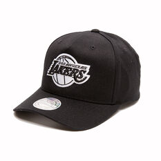 The Mitchell & Ness Los Angeles Lakers BNW Logo 110 Snapback Cap, , rebel_hi-res