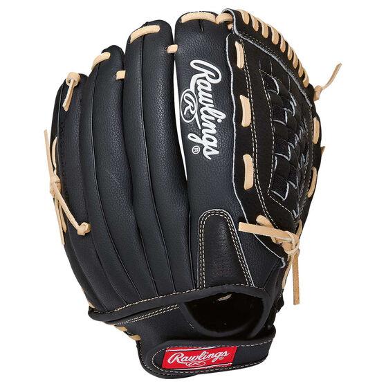 Rawlings SS 13in RHT Baseball Glove Black 13in, , rebel_hi-res