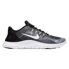 Nike Flex RN 2018 Mens Running Shoes Black / White US 7, Black / White, rebel_hi-res