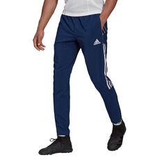adidas Tiro 21 Mens Woven Track Pants, Navy, rebel_hi-res