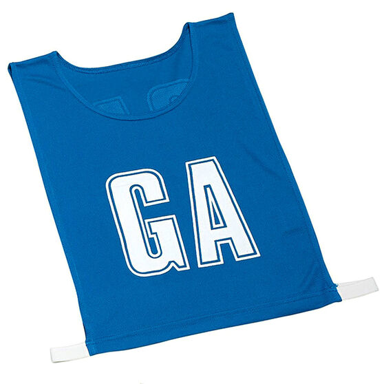 Gilbert Netball Bibs, Royal Blue, rebel_hi-res