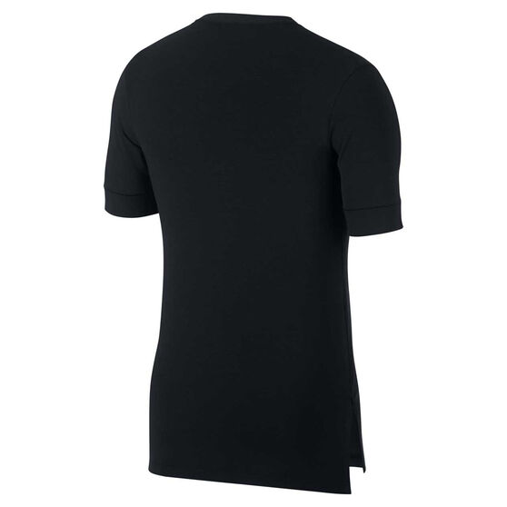 Nike Mens Dri-FIT Transcend Training Tee, Black, rebel_hi-res