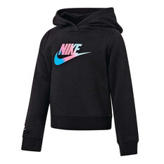 Nike Girls Future Femme Hoodie Black 4, Black, rebel_hi-res