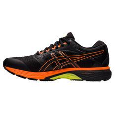 Asics GEL Superion 4 Mens Running Shoes Black/Orange US 7, Black/Orange, rebel_hi-res