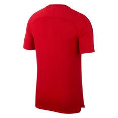 Paris Saint Germain FC x Air Jordan Mens Training Tee Red / Black S, Red / Black, rebel_hi-res