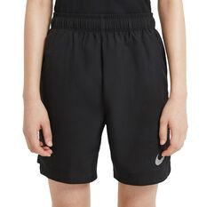 Nike Boys Training Shorts, Black, rebel_hi-res
