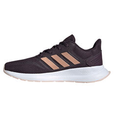 adidas Runfalcon Kids Running Shoes Purple US 4, Purple, rebel_hi-res