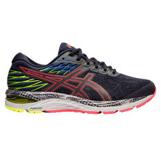 Asics GEL Cumulus 21 Liteshow 2.0 Mens Running Shoes Blue / Silver US 7, Blue / Silver, rebel_hi-res