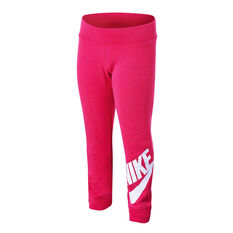 Nike Girls Sportswear Futura Fleece Jogger Pants Pink 4, Pink, rebel_hi-res