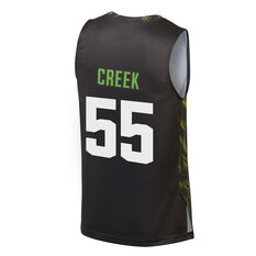 South East Pheonix Mitch Creek City Edition 2019/20 Mens Jersey, Black, rebel_hi-res