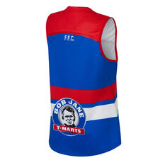 Western Bulldogs AFLW 2020 Womens Home Guernsey Blue XS, Blue, rebel_hi-res