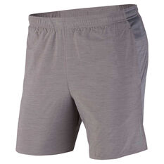 Nike Mens Challenger 7in Running Shorts Grey S, Grey, rebel_hi-res
