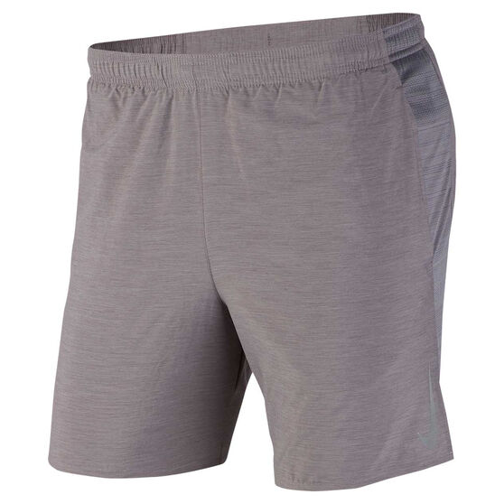 Nike Mens Challenger 7in Running Shorts Grey XXL, Grey, rebel_hi-res