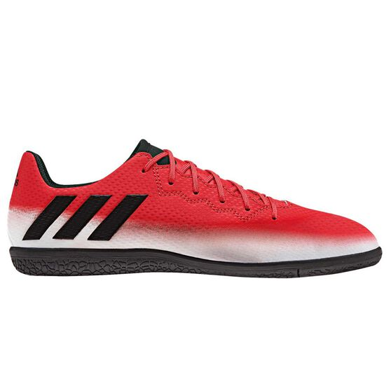 4d908930e27c adidas Messi 16.3 Junior Indoor Soccer Shoes Red   Black US 11 ...