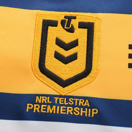 Parramatta Eels 2020 Mens Away Jersey, Yellow / Blue, rebel_hi-res