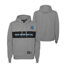 Cronulla-Sutherland Sharks 2021 Kids Hoodie, Grey, rebel_hi-res