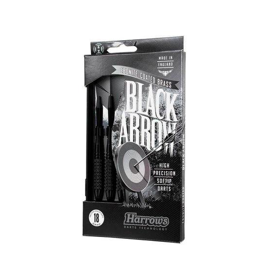 Harrows Black Arrow Soft Tip Darts, , rebel_hi-res