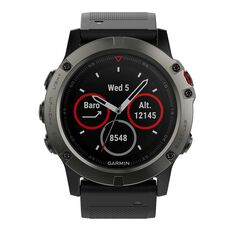 Garmin Fenix 5X Sapphire GPS Heart Rate Watch Slate Grey / Black, , rebel_hi-res