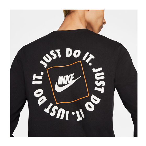 Nike Mens Sportswear JDI Long Sleeve Tee, Black, rebel_hi-res