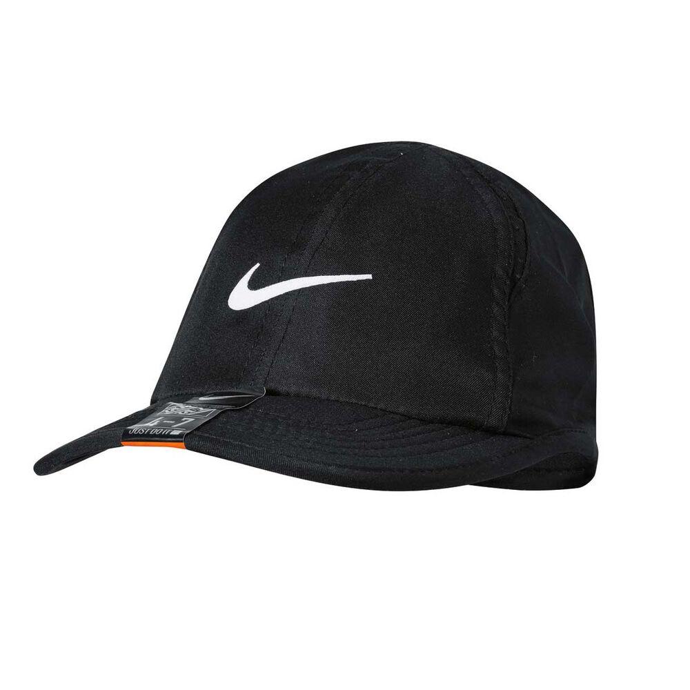 e06df0778f9 Nike Kids Featherlight Cap Black OSFA