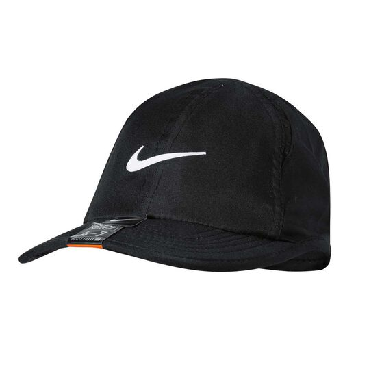 Nike Kids Featherlight Cap Black OSFA, , rebel_hi-res