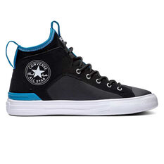 Converse Chuck Taylor Ultra Ultra Cons Force Mid Mens Casual Shoes Black / Blue US 7, Black / Blue, rebel_hi-res