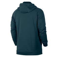 Nike Mens Dri FIT Training Hoodie Blue S, Blue, rebel_hi-res