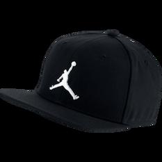 Nike Pro Jordan Jumpman Cap Black OSFA, Black, rebel_hi-res