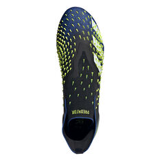 adidas Predator Freak + Football Boots, Black/Blue, rebel_hi-res