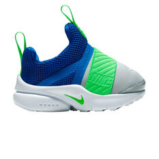 Nike Presto Extreme Toddlers Running Shoes Blue / Green US 2, Blue / Green, rebel_hi-res