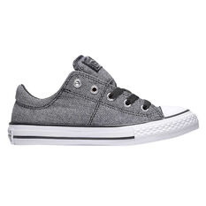 Converse Chuck Taylor All Star Madison Kids Casual Shoes Grey US 12, Grey, rebel_hi-res