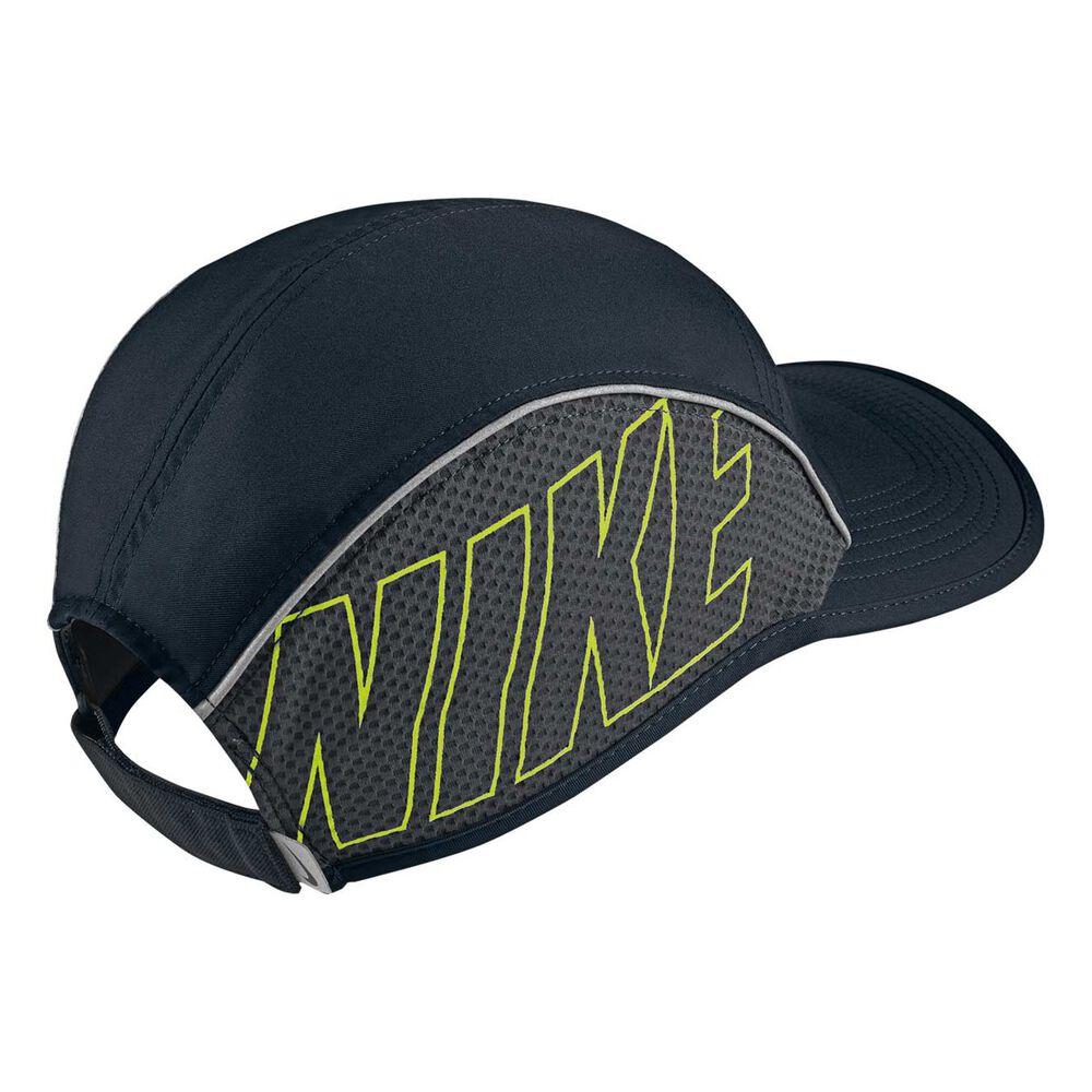 Nike AeroBill Running Cap Black OSFA  6457da83576a