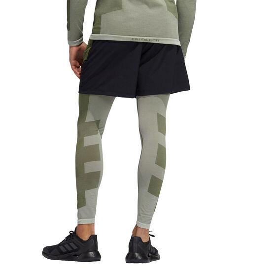 adidas Mens Studio Tech Shorts, Green, rebel_hi-res