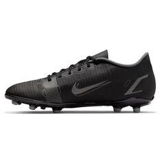 Nike Mercurial Vapor 14 Club Football Boots Black/Grey US Mens 4 / Womens 5.5, Black/Grey, rebel_hi-res