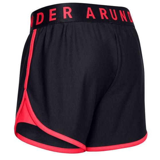Under Armour Womens UA Play Up Shorts, Black, rebel_hi-res