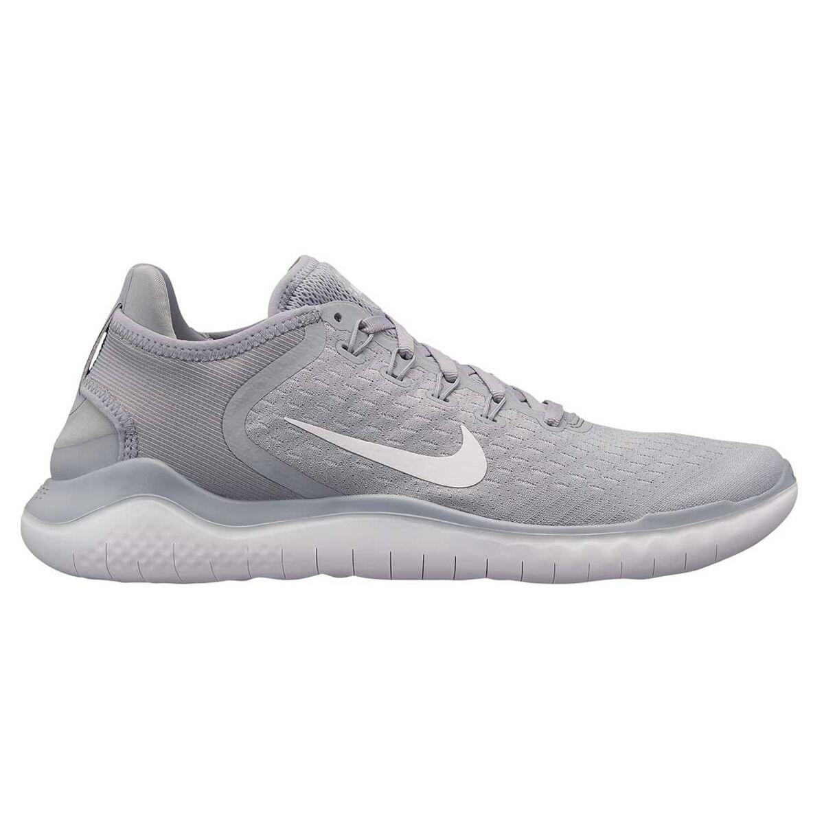 e3842b076db ... buy nike free rn 2018 mens running shoes grey white us 9.5 grey white  f730e 44953