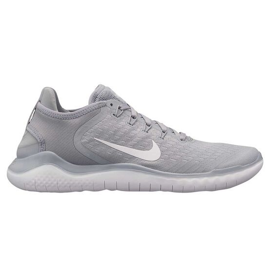 6a816e0a97e3 Nike Free RN 2018 Mens Running Shoes Grey   White US 7