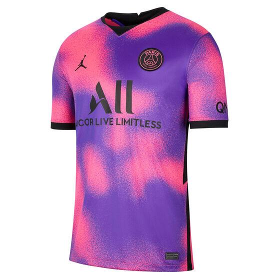 Paris Saint Germain FC 2020/21 Mens 4th Jersey, Multi, rebel_hi-res