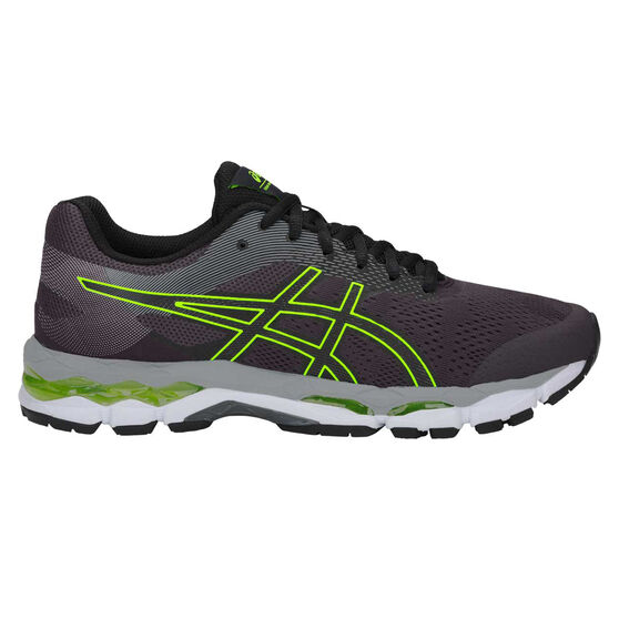 Asics GEL Superion Mens Running Shoes, Grey / Green, rebel_hi-res