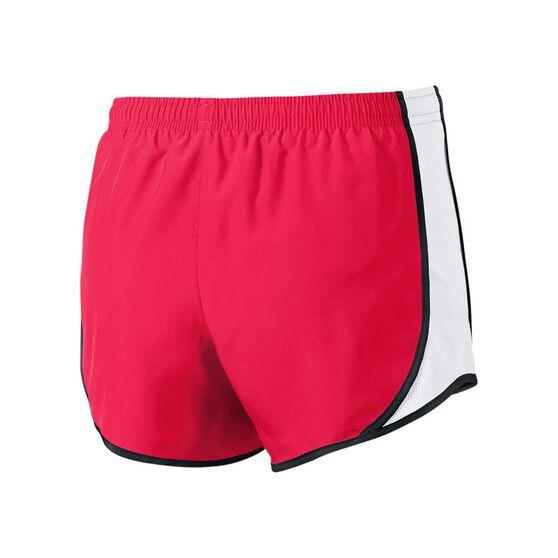f949596a Nike Girls Dry Tempo Shorts Pink / White / Black XL