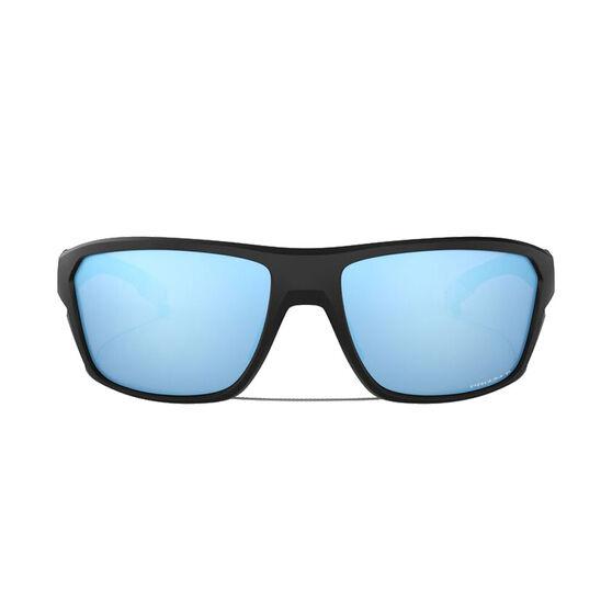 Oakley Split Shot Polarised Sunglasses Matte Black/Prizm Deep, Matte Black/Prizm Deep, rebel_hi-res