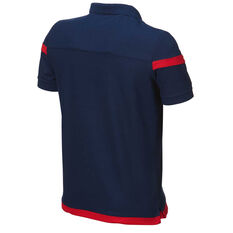 Adelaide United 2018 / 19 Mens Club Polo Red S, Red, rebel_hi-res