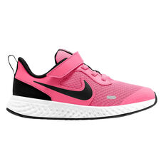Nike Revolution 5 Kids Running Shoes Pink US 11, Pink, rebel_hi-res