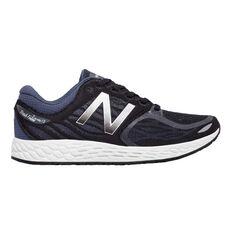 New Balance Zante B Womens Running Shoes Black / White US 6, Black / White, rebel_hi-res