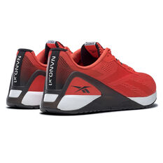 Reebok Nano X1 Mens Training Shoes, Red/White, rebel_hi-res