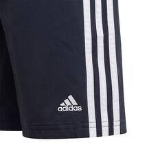 Adidas Boys Essential 3S Woven Shorts, Navy, rebel_hi-res