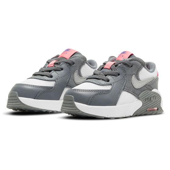 Nike Air Max Excee Toddler Shoes, Grey/Pink, rebel_hi-res