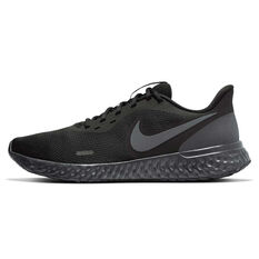 Nike Revolution 5 Mens Running Shoes Black US 7, Black, rebel_hi-res
