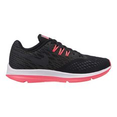 Nike Zoom Winflo 4 Womens Running Shoes Black / Grey US 6, Black / Grey, rebel_hi-res