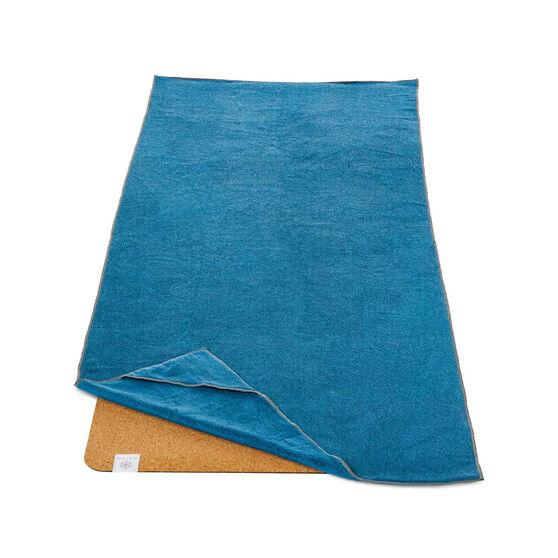 Gaiam Stay Put Yoga Mat Towel, , rebel_hi-res